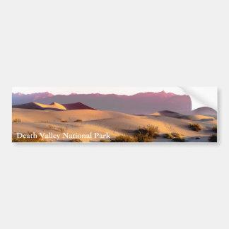 Autocollant De Voiture Dunes de sable plates de mesquite Death Valley
