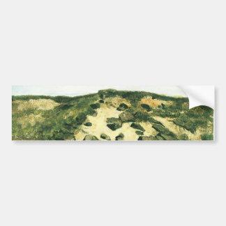 Autocollant De Voiture Dunes Vincent van Gogh