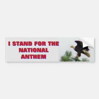Autocollant De Voiture Eagle chauve nord-américain que je représente