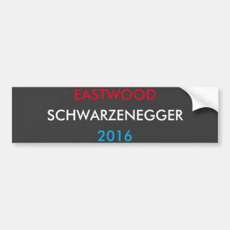 Autocollant De Voiture Eastwood Schwarzenegger 2016