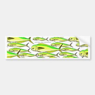 Autocollant De Voiture École de Mahi (poissons de dauphin)
