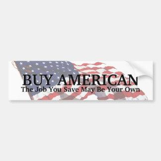 Autocollant De Voiture Économies d'Américain d'achat de KRW un adhésif