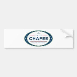 Autocollant De Voiture Élection présidentielle 2016 de Lincoln Chafee
