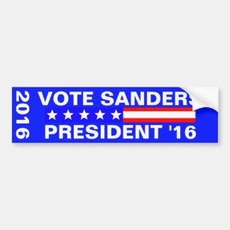 Autocollant De Voiture Élection présidentielle des ponceuses 2016 de vote