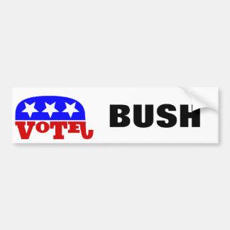 Autocollant De Voiture Éléphant de républicain de Jeb Bush de vote