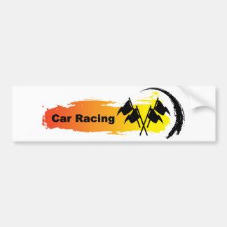 Autocollant De Voiture Emblème unique de courses d'automobiles