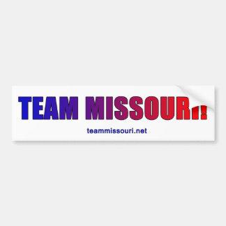 Autocollant De Voiture Équipe Missouri fier !