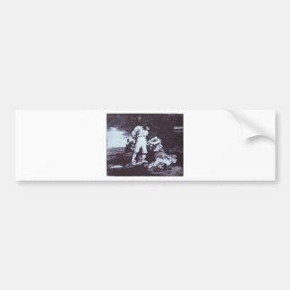 Autocollant De Voiture Et il ne peut pas être changé par Francisco Goya