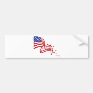 Autocollant De Voiture Étoiles de drapeau américain