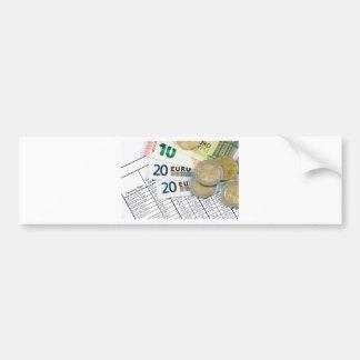Autocollant De Voiture Euros