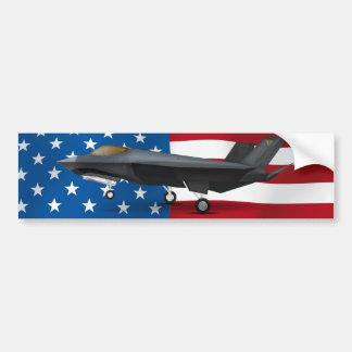 AUTOCOLLANT DE VOITURE F-22