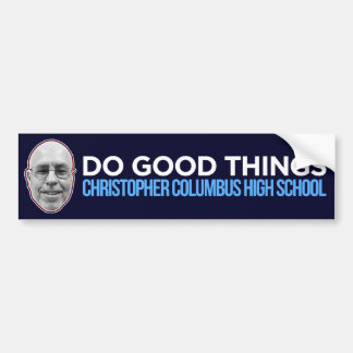 Autocollant De Voiture Faites les bonnes choses (public - les ventes au