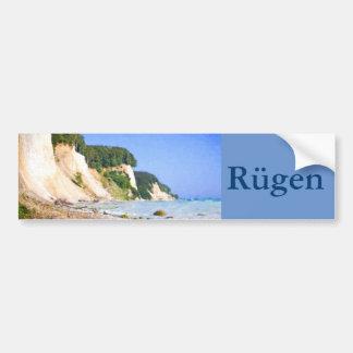 Autocollant De Voiture Falaises de craie de Rügen