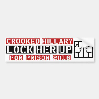 Autocollant De Voiture fermez à clef sa anti-hillary haute Clinton Donald