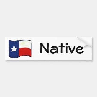 Autocollant De Voiture Fierté du Texas