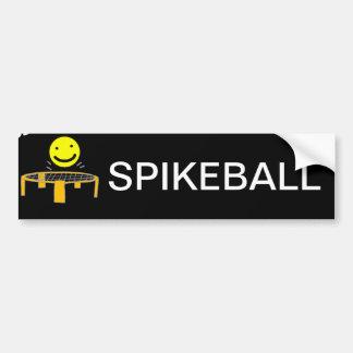 Autocollant De Voiture Filet drôle de Spikeball avec l'art de visage de