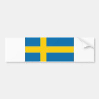 Autocollant De Voiture Flag_of_Sweden 6k