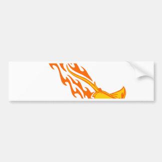 Autocollant De Voiture Flammes de rayon de Sting