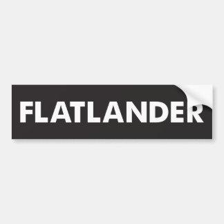 Autocollant De Voiture Flatlander