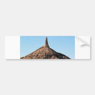 Autocollant De Voiture Flèche de roche de cheminée de Scottsbluff