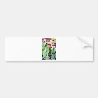 Autocollant De Voiture Fleurs du muguet cachées dans le feuille