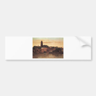 Autocollant De Voiture Francfort par Gustave Courbet