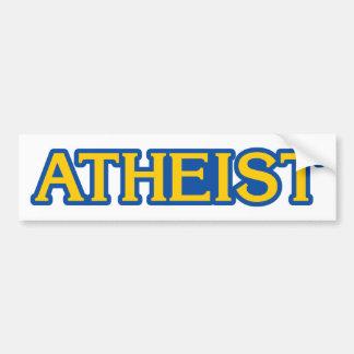 Autocollant De Voiture Gamer athée