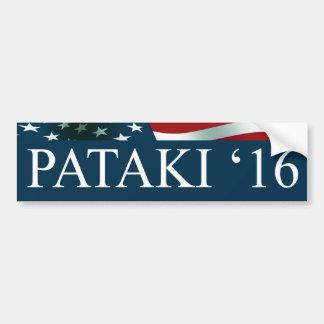 Autocollant De Voiture George Pataki 2016