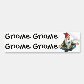 Autocollant De Voiture Gnome, gnome, adhésif pour pare-chocs de gnome…