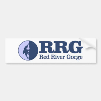 Autocollant De Voiture Gorge de la rivière rouge (escalade)