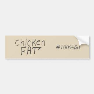 Autocollant De Voiture graisse de poulet