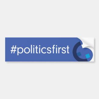 Autocollant De Voiture Hashtag + Logo