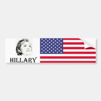 Autocollant De Voiture Hillary Clinton 2016
