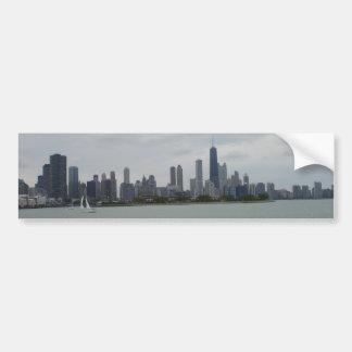 Autocollant De Voiture Horizon de Chicago