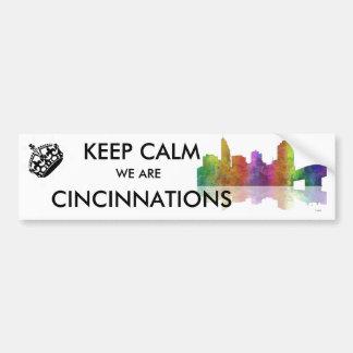 Autocollant De Voiture Horizon de Cincinnati