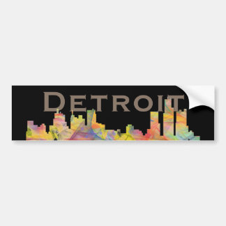 AUTOCOLLANT DE VOITURE HORIZON WB1 DE DETROIT, MICHIGAN -