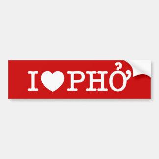Autocollant De Voiture I coeur (amour) Pho