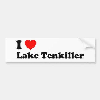 Autocollant De Voiture I lac Tenkiller heart