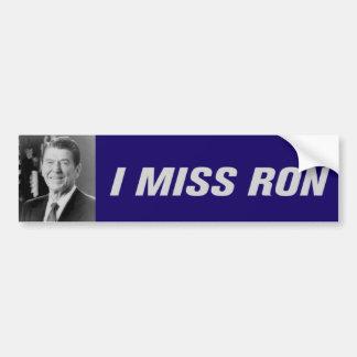 Autocollant De Voiture I Mlle Ron Bumpersticker