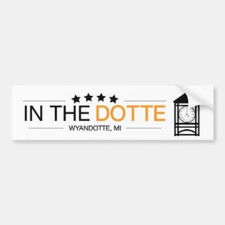 Autocollant De Voiture InTheDotte - Wyandotte, MI - Clocktower