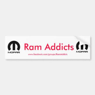 Autocollant De Voiture Intoxiqués de RAM