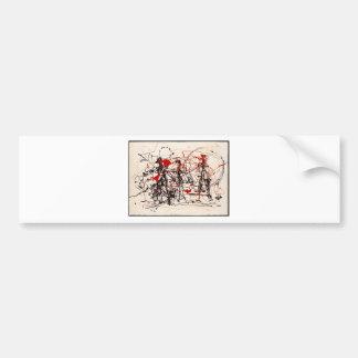 Autocollant De Voiture Jackson Pollock sans titre