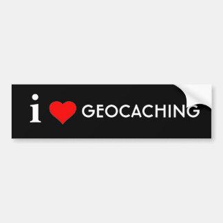 Autocollant De Voiture J'aime Geocaching