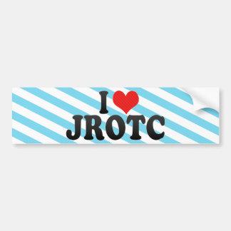 Autocollant De Voiture J'aime JROTC