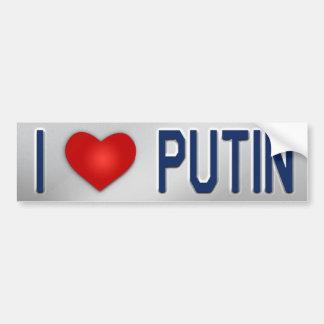 Autocollant De Voiture J'aime Poutine