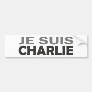 Autocollant De Voiture Je Suis Charlie