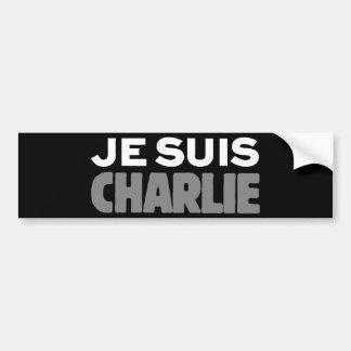 Autocollant De Voiture Je Suis Charlie - je suis noir de Charlie