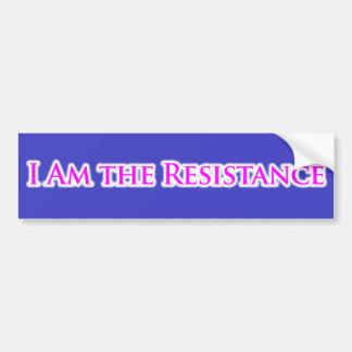 Autocollant De Voiture JE SUIS la résistance