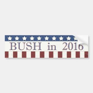 Autocollant De Voiture Jeb Bush 2016 bannières étoilées