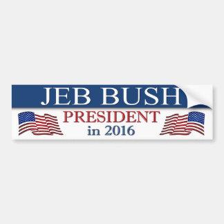 Autocollant De Voiture Jeb Bush 2016 patriote